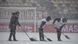 Sneeuwduel tussen Roda en Almere vrijdag uitgespeeld