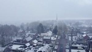 Uitzonderlijke winterbeelden in april: Limburg plaatselijk bedekt onder laagje sneeuw