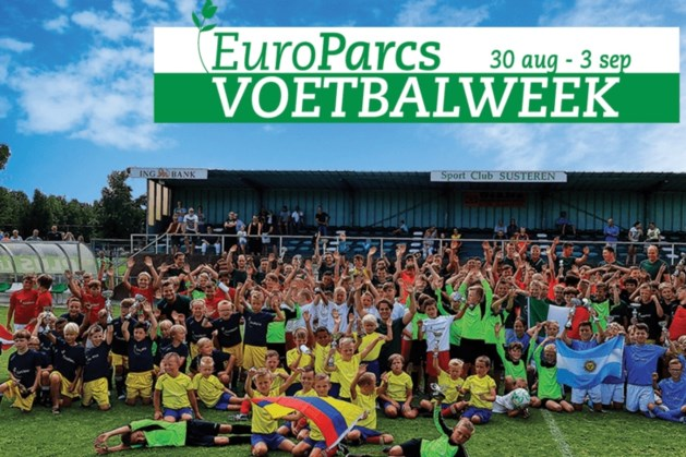 Voetbalweek Susteren in laatste week zomervakantie