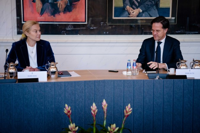 Kaag: nu niet het moment om Rutte uit te sluiten