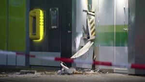 Geldautomaat plofkraak winkelcentrum Geleen was leeg