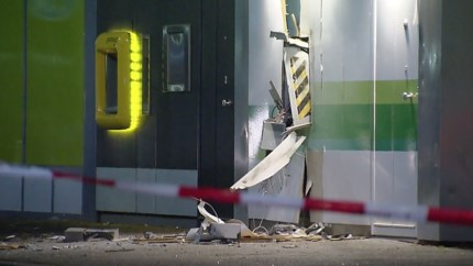Video: Geldautomaat plofkraak winkelcentrum Geleen was leeg