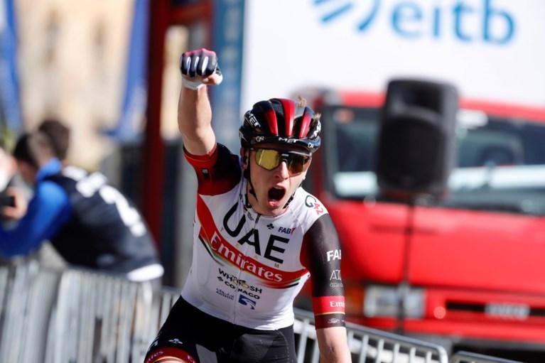 Primoz Roglic en Tadej Pogacar geven voorproefje in Baskenland voor komende Tour de France