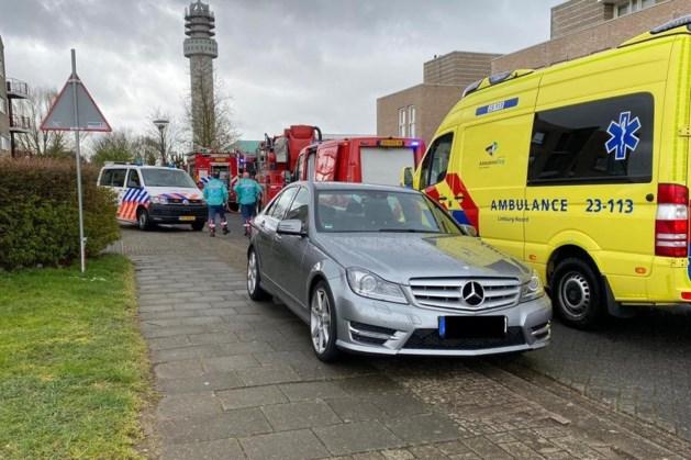 Kelderbrand in appartementencomplex Roermond