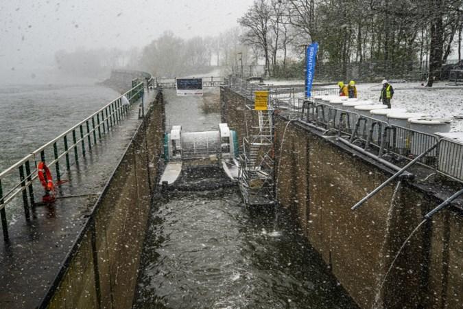 Drijvende waterkrachtcentrale in Borgharen vermaalt geen vissen