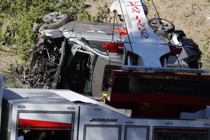 Veel te hard rijden oorzaak zwaar auto-ongeval Tiger Woods