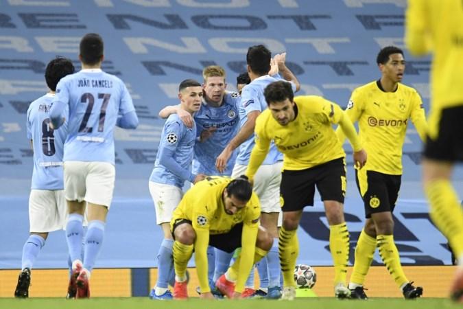 Manchester City verslaat Dortmund in laatste minuut