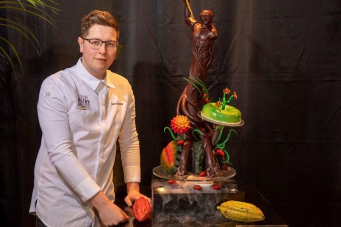 Patissier Carlo Lennarts uit Wahlwiller wint publieksprijs bij Dutch Pastry Award