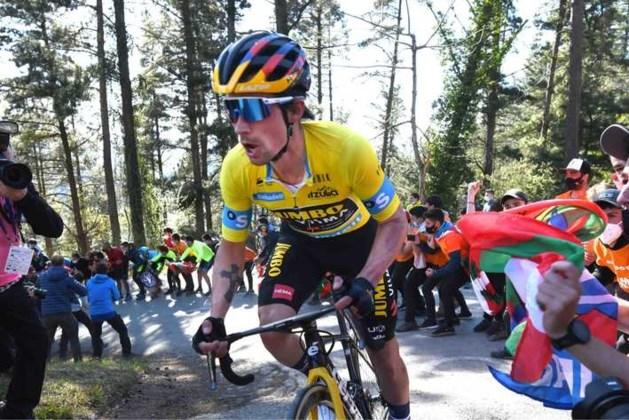 Primoz Roglic is leiderstrui kwijt in Ronde van Baskenland