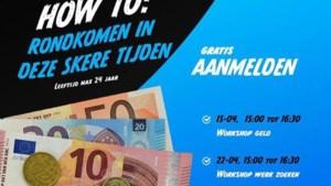 Gratis workshops voor jongeren tot en met 24 jaar over leren omgaan met geld en zoeken naar werk