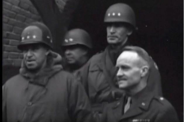 Uniek beeldmateriaal uit 1945 van verblijf Amerikaanse militairen in Simpelveld