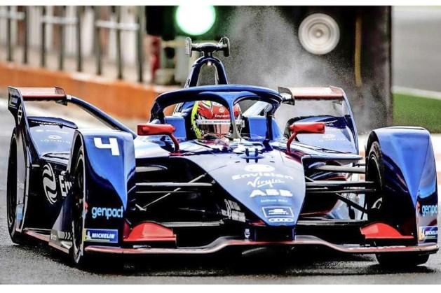 Robin Frijns vierde in Formule E in Rome