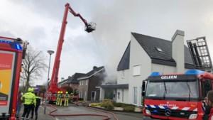 Zolderbrand Neerbeek zorgt voor rookoverlast omgeving
