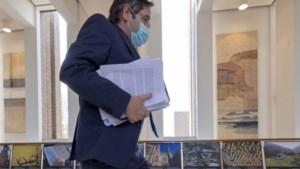 Limburgs gouvernement ligt bezaaid met scherven