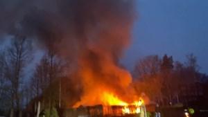Video: Opnieuw brand in chalet op vakantiepark in Maasbree