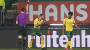 Fortuna is boos op zichzelf en op Joey Kooij: 'We verliezen deze wedstrijd door mijn fout'
