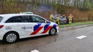 Brandweer moet inzittenden bevrijden na ongeval