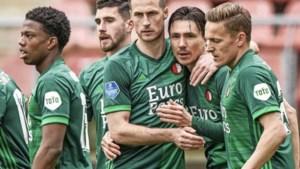 Steven Berghuis bezorgt Feyenoord de overwinning tegen FC Utrecht