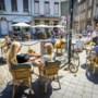 Nog lang geen terrasweer: 'Temperatuur blijft stokken'