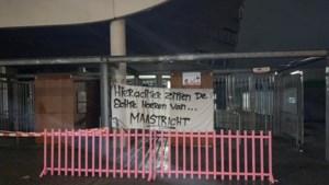 Plaagstootjes met bekend roze tuinhekje voorafgaand aan derby tussen MVV en Roda