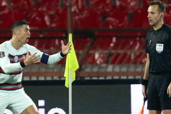 Danny Makkelie haalt grensrechter Mario Diks uit EK-team na blunder met Cristiano Ronaldo
