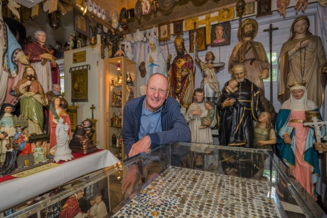 Het 'Rijke Roomsche Leeven' viert nog altijd hoogtij in het museum van Jos Hodselmans uit Swalmen