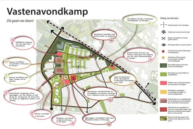 Toekomstplan moet van Vastenavondkamp wijk maken die bewoners niet willen verlaten