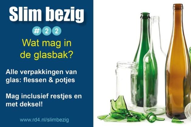 Campagne Reinigingsdienst Rd4 'Hoe slim ben jij met afval?'