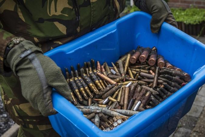 Munitie gevonden op containerpark in Belgisch-Limburg