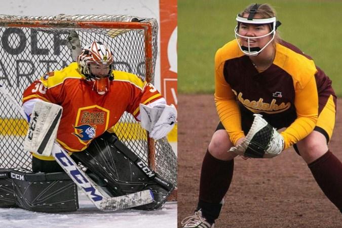 Ijshockey en softbal: Stefanie Teismann is van alle markten thuis