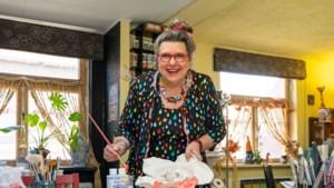 Marga van Donselaar was zuster en lerares, maar volgde haar hart en is nu eigenaar van atelier Leim & Zwa in Elsloo