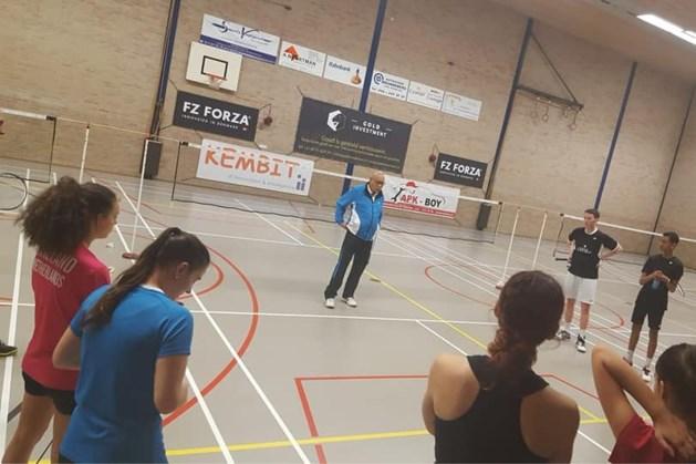 George Nieuwenboom vijftig jaar badminton trainer