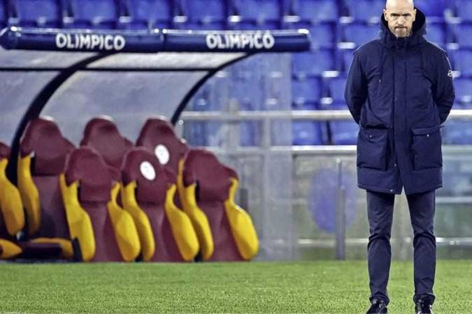 Europa League voor Ajax voorbij na 1-1 in Rome