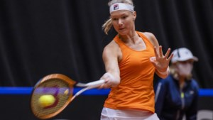Tennisster Bertens zet Nederland op voorsprong tegen China