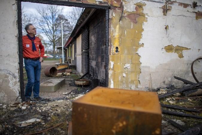 Meer dan een jaar na allesverwoestende brand ligt scouting Sint Jozef in Sittard nog steeds stil