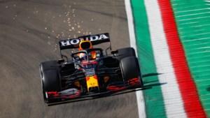 Verstappen snelste in derde vrije training op Imola