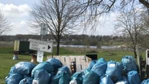 Verenigingen Venlo ruimen meer dan tweehonderd vuilniszakken op