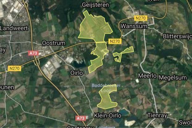 Stichting Landgoed Geijsteren werkt niet mee: windmolens van de baan