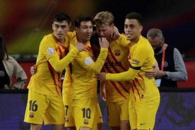 Ultiem eerbetoon Messi aan 'koninklijke' Frenkie de Jong
