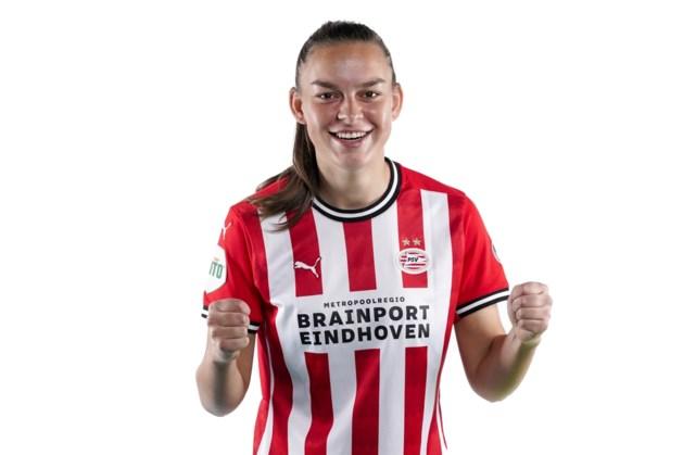 Romée Leuchter uit Schinveld schiet PSV ten koste van Ajax naar bekerfinale