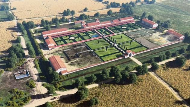 Gratis lespakketten over Romeinse villa Voerendaal