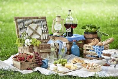 Binnenshuis picknicken en cider in plaats van rosé: dit zijn de nieuwste picknicktrends