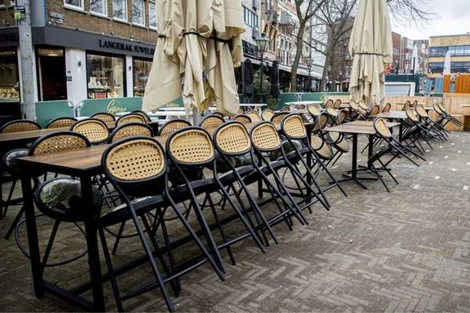 Op terrassen maximaal twee personen per tafel buiten eigen huishouden