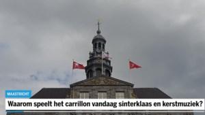 Waarom speelt het carillon in Maastricht sinterklaas- en kerstmuziek?