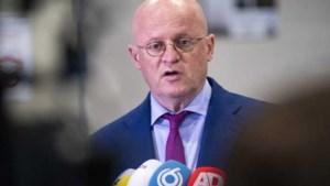 Minister Grapperhaus: 'Zit in een positieve flow'
