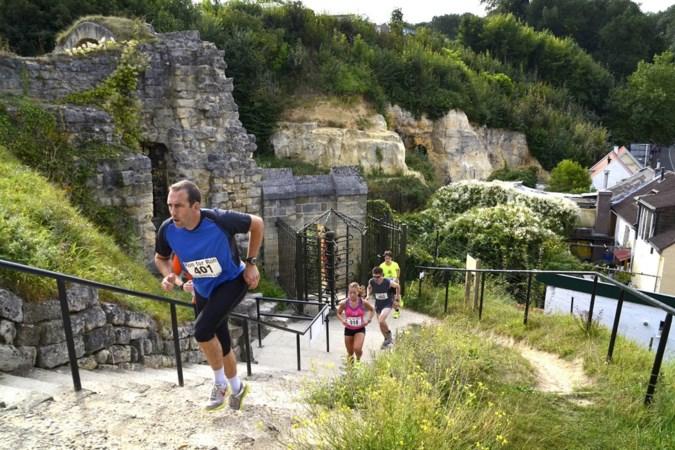 Wethouder Rémy Meijers loopt zijn hoofd helemaal leeg tijdens het rennen