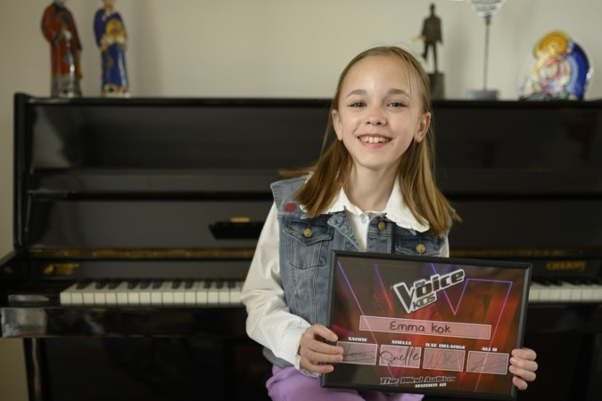 Emma (13) blaast 'Voice-coaches' weg met optreden, jongste telg familie Kok maakt indruk