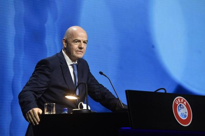 FIFA-voorzitter Gianni Infantino waarschuwt Super Leagueclubs: je bent erin of eruit