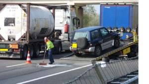 Persoon gewond na ongeluk op A67 nabij Maasbree