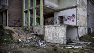 Voormalig ziekenhuis Brunssum nu verpauperd speelparadijs voor urban explorers, vandalen en kinderen